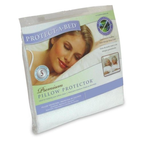 Protect-A-Bed Premium Standard Size Pillow Protector Cover