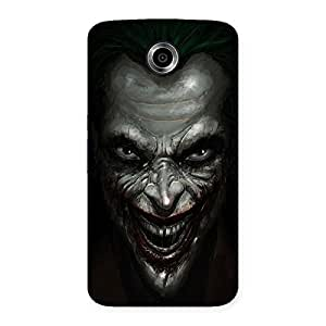 Mad face Multicolor Back Case Cover for Nexsus 6