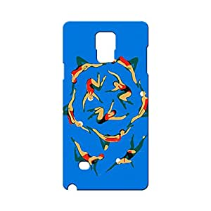 BLUEDIO Designer Printed Back case cover for Samsung Galaxy Note 4 - G4023