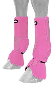 Tough 1 Performers 1st Choice Combo Boots, Pink, Medium