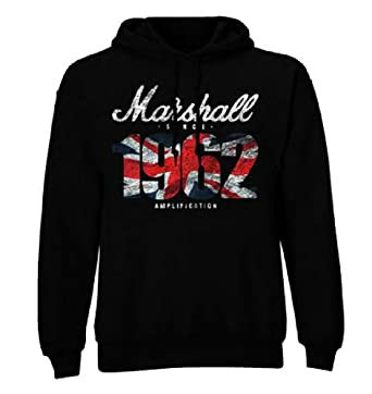 Official Hoody Hoodie MARSHALL 1962 Pullover DISTRESSED M
