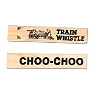 Large Wooden Train Whistles (Package…