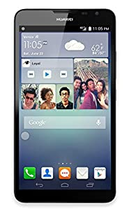 Huawei Ascend Mate2 4G LTE Smart Phone - 16GB - 6.1'' Screen - Quad Core - Factory Unlocked - US Warranty (Black)