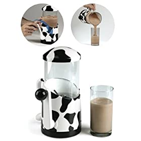 Hog Wild Idea Kitchen - Hand Crank Milkshake Mixer