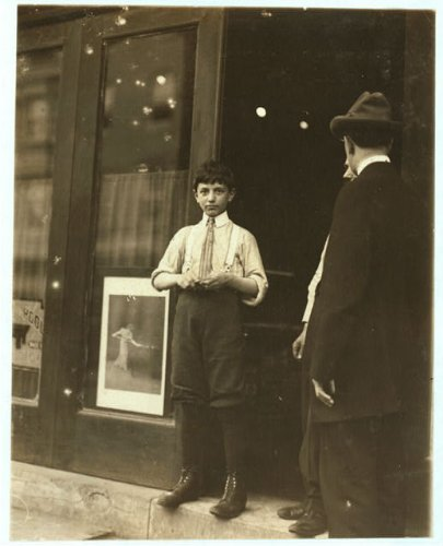 Photo Thomas Panasares i.e., Panasaros?, Thomas Panasaros cousin. Arrange balls in pool room at 711 Market St. 12 and