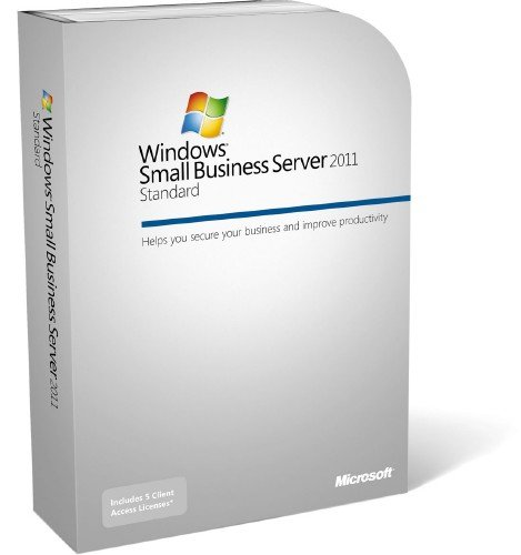 Windows Small Business Server Premium 2011 64Bit English 1 Pack DSP OEI DVD 1-4CPU 5 Clt
