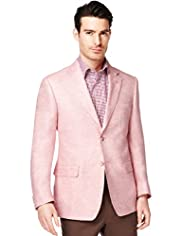 Collezione Pure Linen 2 Button Textured Jacket