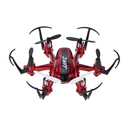 JJRC-Nano-Hexacopter-24G-4CH-6Axis-Headless-Mode-RTF-RC-Quadcopters-H20-Red