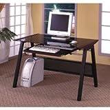 Dark Walnut Computer Desk by Coaster Furniture