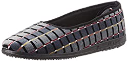 Gliders (From Liberty) Womens Grey Ballet Flats - 6 UK/India (39 EU)
