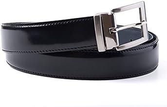 Artimondo by A.M. Cintura uomo in pelle spazzolata di colore nero