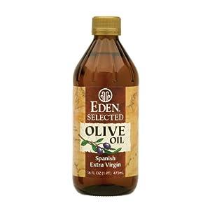 Eden Foods Selected Olive Oil Spanish Extra Virgin -- 16 fl oz