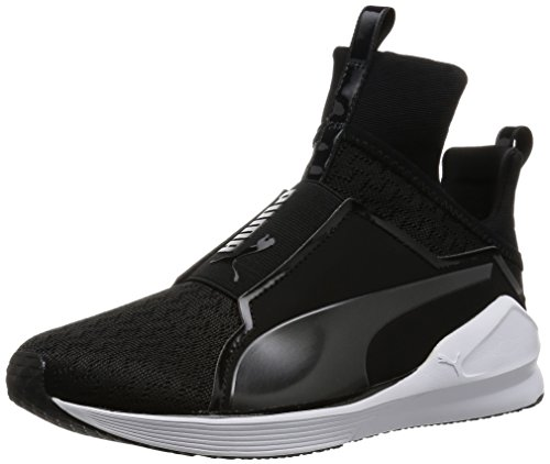 Puma Fierce Eng Mesh, Sneaker Woman (Fitness &), Nero/Bianco, 6 EU