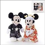 Amazon.co.jpブライダル ぬいぐるみS ミッキーマウス&ミニーマウス 和装