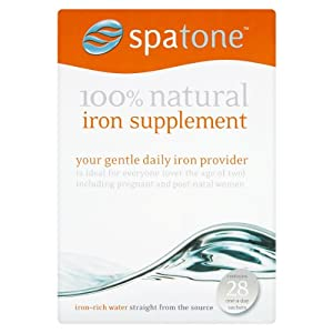 Nelsons Spatone 100% Natural Iron Supplement--28 Sachets