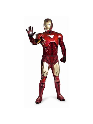 Iron Man Mark VI Theatrical Quality Mens - X-Large