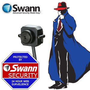 Swann Spycam Color Video Camera - Mini Security Camera - SW211-SPY