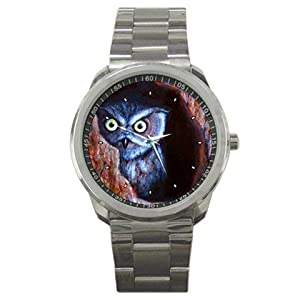 Limited Edition Violano Sports Watch Owl Wildlife