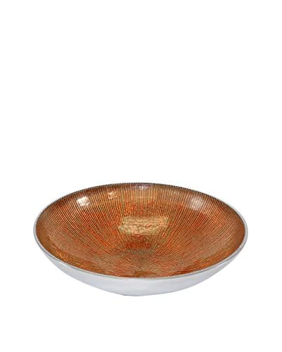 Pampa Bay Serenity Large Round Bowl, Brown