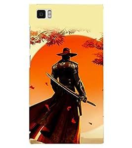 PRINTSHOPPII NINJA Back Case Cover for Xiaomi Redmi Mi3::Xiaomi Mi 3