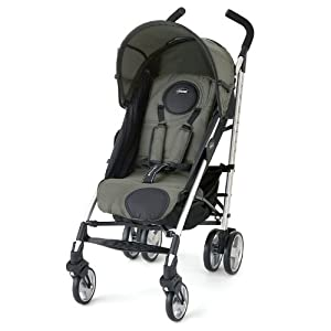 Chicco Liteway Stroller, Moss (Discontinued by Manufacturer)
