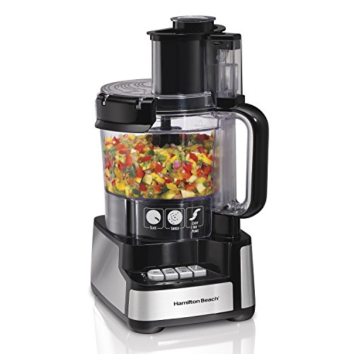 Stack & Snap 12-Cup Food Processor by Hamilton Beach , 70725 , 16.14x9.06x8.46 (Food Processor 70725 compare prices)
