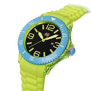 40nine Large 45mm Yellow Watch