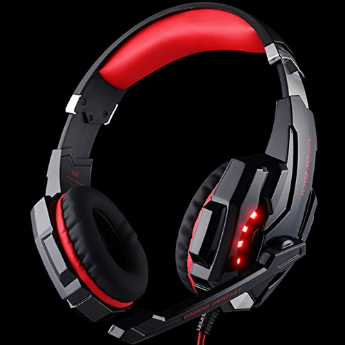 Gilumza Kotion Each G9000 3.5mm Game Gaming Headphone Headset Earphone Headband With Microphone LED Light For...