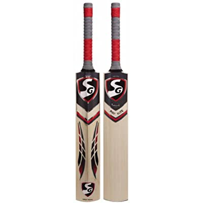 SG RSD Elite English Willow Cricket Bat, Short Handle