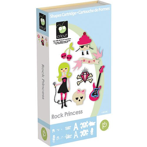 Cricut Rock Princess Shapes Cartridge
