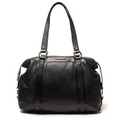 Discount Code For Michael Kors Fulton Satchels - Michael Kors Genuine Leather Satchel Dp B00bid5df0