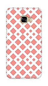 Amez designer printed 3d premium high quality back case cover for Samsung Galaxy C5 (Pattern 1)