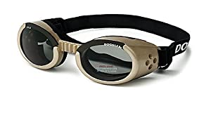 ILS Lense Dog Goggles in Chrome Size-See Chart Below: Small