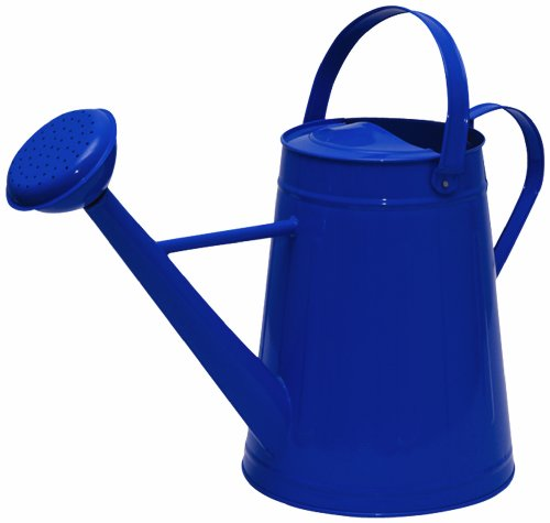 Tierra Garden 36-5081B Traditional Watering Can, 2.1-Gallon, Blue (Blue Watering Can compare prices)