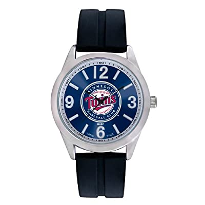 "Game Time Men's MLB-VAR-MIN ""Varsity"" Watch - Minnesota Twins"