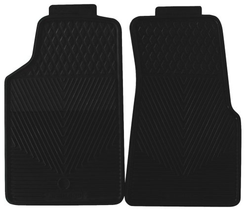 Highland 4603500 All-Weather Black Front Seat Floor Mat front-945816