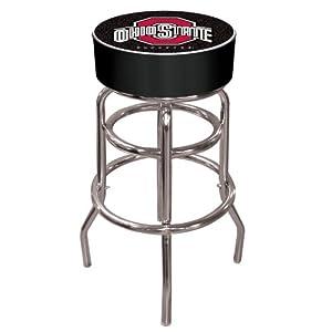 NCAA Ohio State Logo Pub Table, Black Bar Stool Black by Trademark
