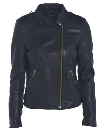 Black Mazeire Carmona Leather Jacket (10)