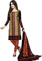 Komal arts Ethnicwear Women's Dress Material(Komal arts_SHREE4651_Multi-Coloured_Free Size)