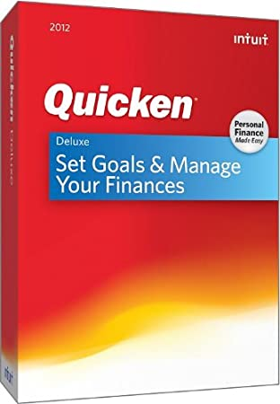 Quicken Deluxe 2012 [OLD VERSION]