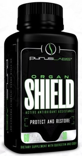 Purus Labs Purus Organ Shield, 60-Count