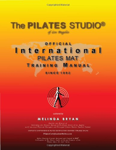 Pilates Mat Training Manual (Official International Training Manual