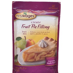 Mrs. Wages Fruit Pie Filling Mix (Pack of 3) 3.9 Oz