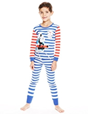 Pure Cotton Thomas & Friends© Striped Pyjamas