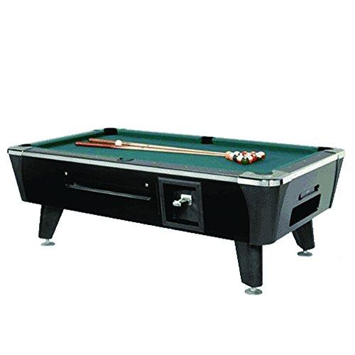 Dynamo Black Sedona Coin Operated 8' Pool Table (Dynamo Coin Operated Pool Table compare prices)