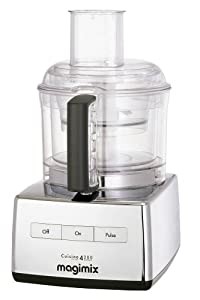 Magimix 4200 Food Processor, Chrome