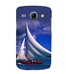 printtech Water Ship Sailing Back Case Cover for Samsung Galaxy J7 / Samsung Galaxy J7 J700F (2015 EDITION)