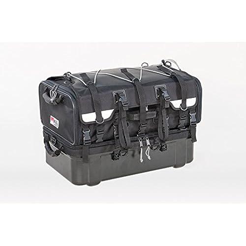타낙스(TANAX) MOTOFIZZ 《모토후즈》 그랜드 씨트 백 블랙 용량70ℓ(상부 백40ℓ・하부 백30ℓ) MFK-222-MFK-222