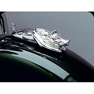 Amazon.com: Kuryakyn 9022 Chrome Wild Boar Fender Ornament