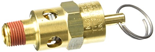 Control Devices ST2512-1A150 ST Series Brass Soft Seat ASME Safety Valve, 150 psi Set Pressure, 1/8 Male NPT (Pressure Relief Valve 150 Psi compare prices)